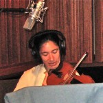 "Sandra Wong  plays Violin and nykelharpa on Zadik's ""We Are One"""