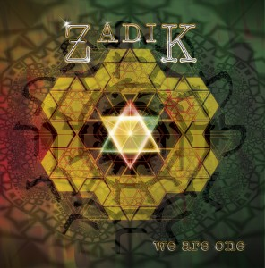 "CD cover for Zadik's album ""We Are One"""