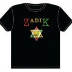 MEN'S BLACK ZADIK CHEST T-SHIRT